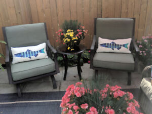 Patio chairs $300 for pair