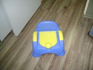 Toilette d'apprentissage pour enfant