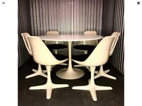 Retro Tulip Dining Table And 6 Chairs Arkana Original