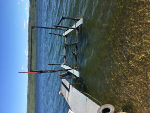 For Sale - boat lift and dock