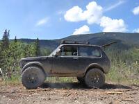 1987 lada niva mud buggy