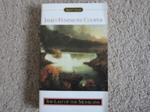 THE LAST OF THE MOHICANS PAPERBACK NOVEL