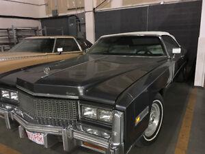 Vintage convertible Cadillac Eldorado