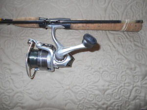 Canne moulinet au Dore/Brochets/Achigans etc, Fish rod reel