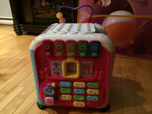 Vtech french multi-activity cube
