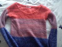 Multi-Coloured Sweater Top Garage XS