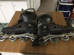 K2 Power XP blades (used for 5 minutes)