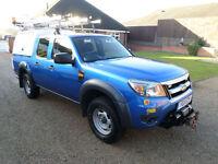 2011 Ford Ranger 2.5TDCi, Double Cab 4x4 XL, 4x4, AWD, Utility Vehicle, FSH,
