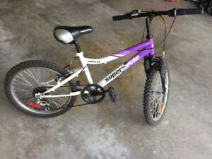 "Girls Supercycle Impulse 20"" and 5 speed bike"