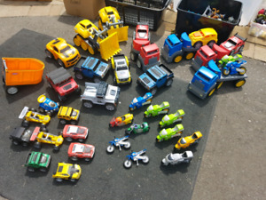 HUGE LITTLE TIKES TOY TRUCK CAR MOTORCYCLE LOT