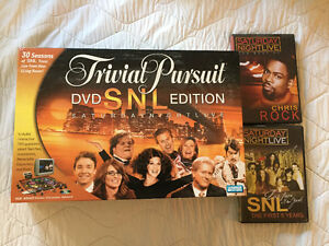 SNL DVDs & TRIVIAL PURSUIT