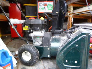 Snow Blower for Sale USED Only 3 Times Electric/Gas Start