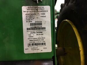 JOHN DEERE 1028E WALK BEHIND SNOW BLOWER... REDUCED!! Strathcona County Edmonton Area image 6