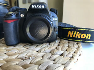 Nikon D3100 DSLR camera body w/ Sigma 17-50 mm 2.8 lens