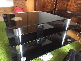 TV Stand Glass good quality heavy