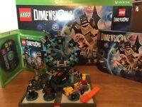 Lego Dimension Xbox One Starter Pack + Bart Simpson Pack