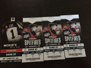 Spits tickets with parking pass feb/23