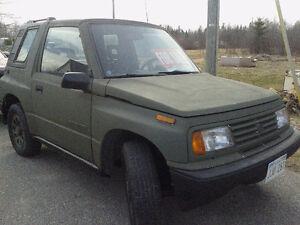 4x4 Suzuki Sidekick Low kms