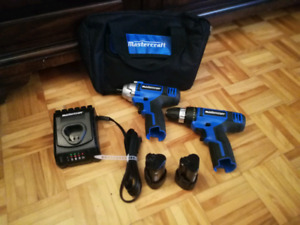 NEW @ Impact + Drill + Charger + 2 Batteries
