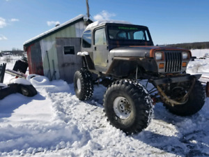 Jeep yj 4x4 monster v8