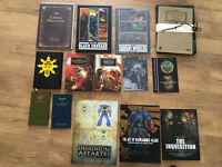 Various Warhammer 40K Black Library Books Limited and Rare Editions