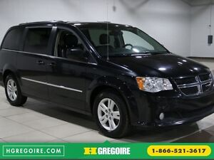 2015 Dodge GR Caravan Crew Plus A/C BLUETOOTH CUIR MAGS