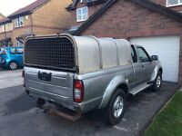 Nissan Navara d22 King cab Ifor Williams canopy