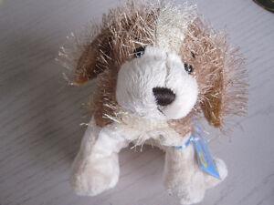 webkinz dog with unused tag
