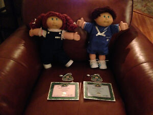 1985 Cabbage Patch Kid Dolls