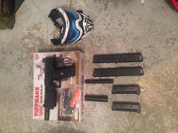 Tippmann TIPX BARELY USED + Mask, and Vest