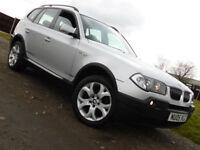 2005 BMW X3 3.0i AUTO Sport SUV ESTATE**SERVICE HISTORY**£4250