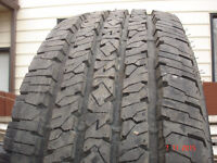 2015 Firestone Transforce tires LT275/70R/18 HT , load range E