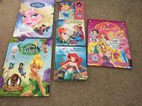 Princess book bundle frozen tinker bell ariel cinderella