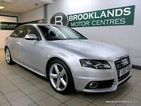 Audi A4 2.0 TDI S LINE QUATTRO 170PS [4X AUDI SERVICES, LEATHER and CAMBELT CHAN