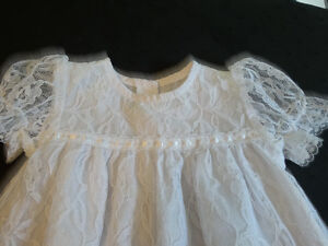 White Lace Christening/Baptismal Gown (up to 20 pounds) Cornwall Ontario image 2