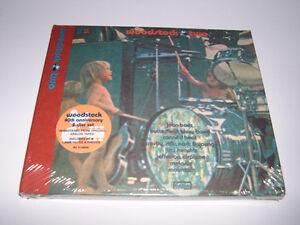 Woodstock Two (1969) Cd digipak 2 disques neuf et scèlle Rock