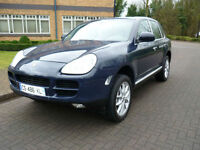 2003 Porsche Cayenne 4.5 Tiptronic S auto Left Hand Drive Lhd French Registered