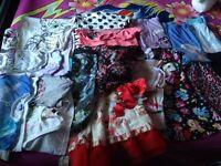 Girls clothing bundle 8-9