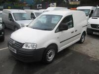 2010 60 VOLKSWAGEN CADDY 2.0 C20 TDI DIESEL ONE COMPANY OWNER ELECTRIC PACK TO