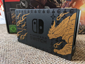 Nintendo Switch Monster Hunter Dock Station with cables ONLY - NEW