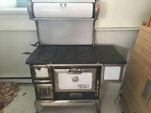 Antique Master Climax wood cook stove