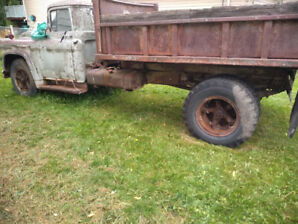 1957Chevy2ton dump Origianal was running 45+ years ago &parked