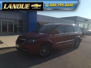 2016 Chrysler Town  Country S  SPORT EDITION-DUAL DVD-LEATHER-PO