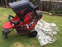 Hauck double buggy/pushchair