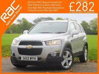 2012 Chevrolet Captiva 2.2 VCDI Turbo Diesel 184 BHP LTZ 6 Speed Auto 4x4 4WD 7-