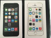 iPhone 5s (white/gold) & (black/silver)
