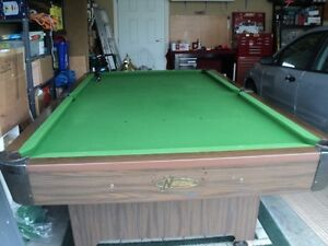 national pool/snooker table