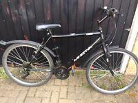 Minerva mountain bike in black