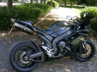 Yamaha YZFR1 R1 1000 2007 19k Black supersport race repl! 170bhp Superbike