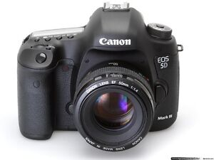 Wanted, Canon 5d mkiii with low shutter count London Ontario image 1